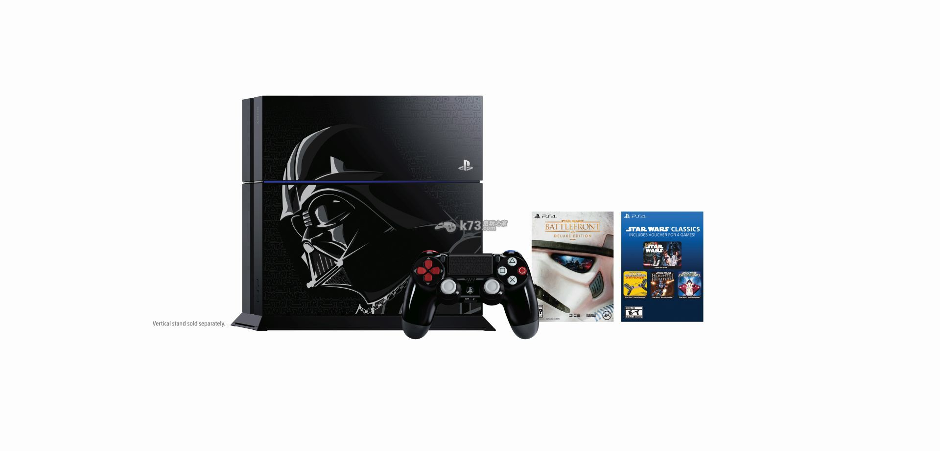 迪士尼公布《星球大战战争前线》限定PS4将于11月17日欧美发售