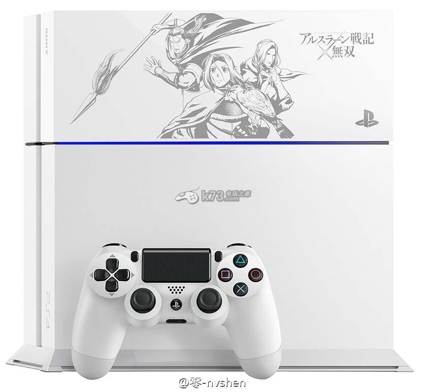 《亚尔斯兰战记X无双》数量限定PS4黑白主机公布