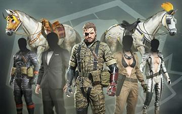 《合金裝備5幻痛》服裝dlc收錄《MGS3》《EVA》服裝