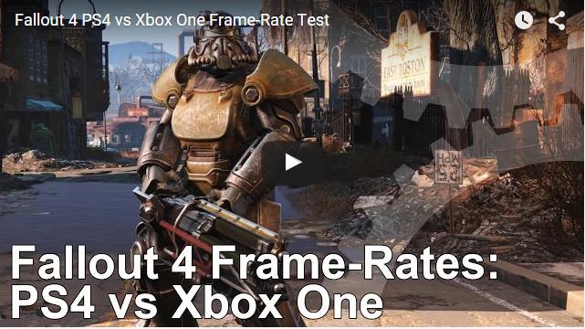 《輻射4》PS4版 vs Xbox One版幀數對決