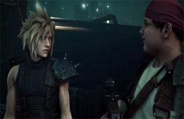 《最终幻想7重制版》画面对比PS1原版视频
