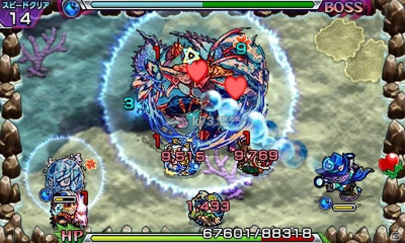 3DS《怪物弹珠》独占怪物&成就系统公开