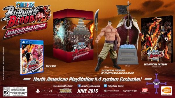 《海贼王燃烧之血》登陆PC平台 PS4限定版公开