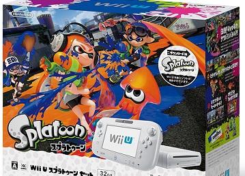 日版《喷色卡通》WiiU同捆主机已售空
