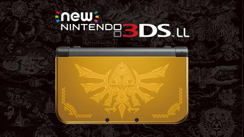 海拉尔版new 3dsll限定主机日版1月21日发售