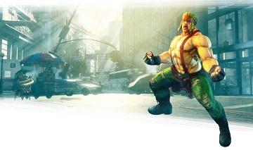 《街头霸王5》Alex截图释出 本月下旬参战