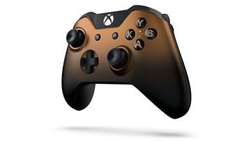 微软公布黄铜色及深蓝色xbox one手柄