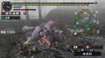 怪物獵人X古塔秘境霞龍登場