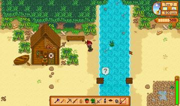 星露谷物语需要架子作物的种法