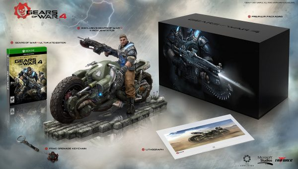 《战争机器4》典藏版内容公开