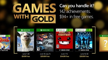 Xbox Live金会员2016年6月免费游戏:《模拟山羊》等