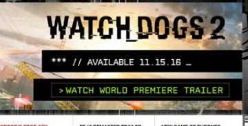 IGN泄露《看门狗2》发售日为11月15日!