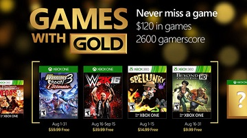 Xbox Live金会员2016年8月免费游戏:《无双大蛇2》