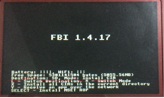 3ds fbi传输教学