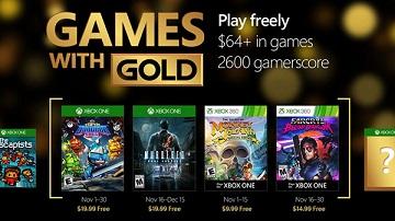 Xbox Live金会员2016年11月免费游戏:略冷门