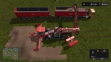模拟农场17火车站卸货方法