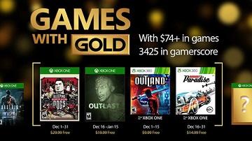Xbox Live金会员2016年12月免费游戏:《睡狗》等