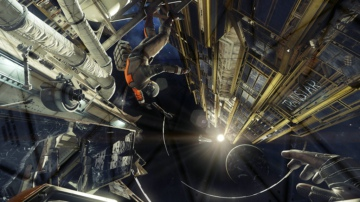《掠食》最新截图曝光 展示外太空和锻造系统