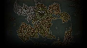 勇者斗惡龍11世界地圖【超清版】
