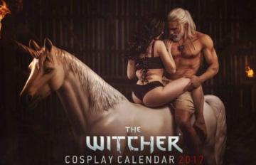 《巫师3》Cosplay够黄够暴力主题年历开启预定