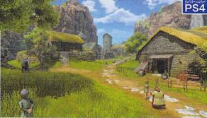 《勇者斗恶龙11》初始村镇伊西村及双版本战斗画面公开