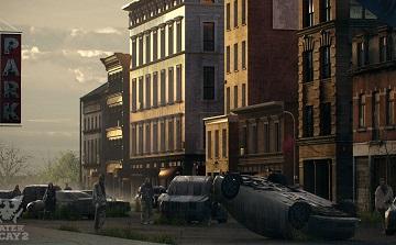 《腐烂国度2》新概念原画白天黑夜城市风光大不同