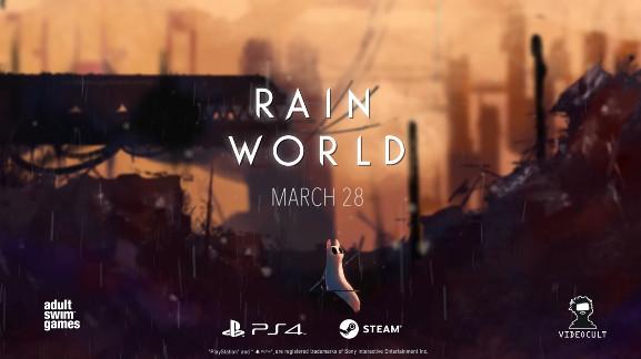 PS4/PC《雨世界》3月29日发售预定