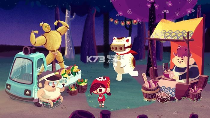 萌猫游戏《峰子的夜市》宣传片释出 猫控最爱!