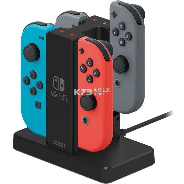 HORI推出Switch用Joy-Con充电支架