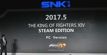 《拳皇14》pc版公布 5月登陆steam平台