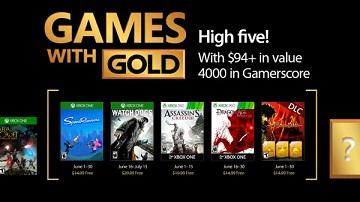 Xbox Live金会员6月免费《看门狗》等游戏