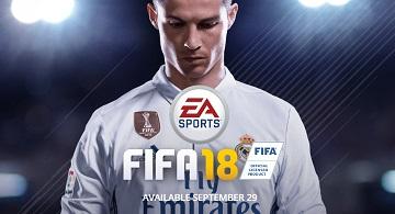 全平台《FIFA18》公布 9月29日发售