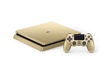 国行ps4 slim金色款式6月14日上市