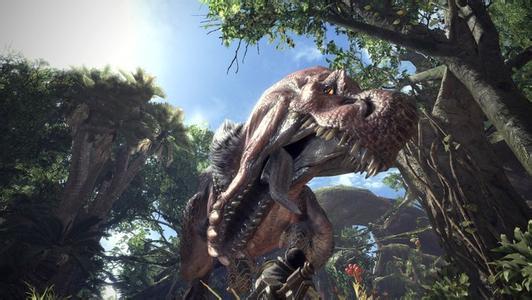 《怪物猎人世界》E3 2017联机试玩视频【更新正式版】