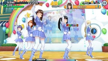 SE推出《校园女生强袭者闪耀旋律》偶像音游手游