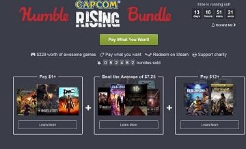 Humble Capcom Rising新包今日上线