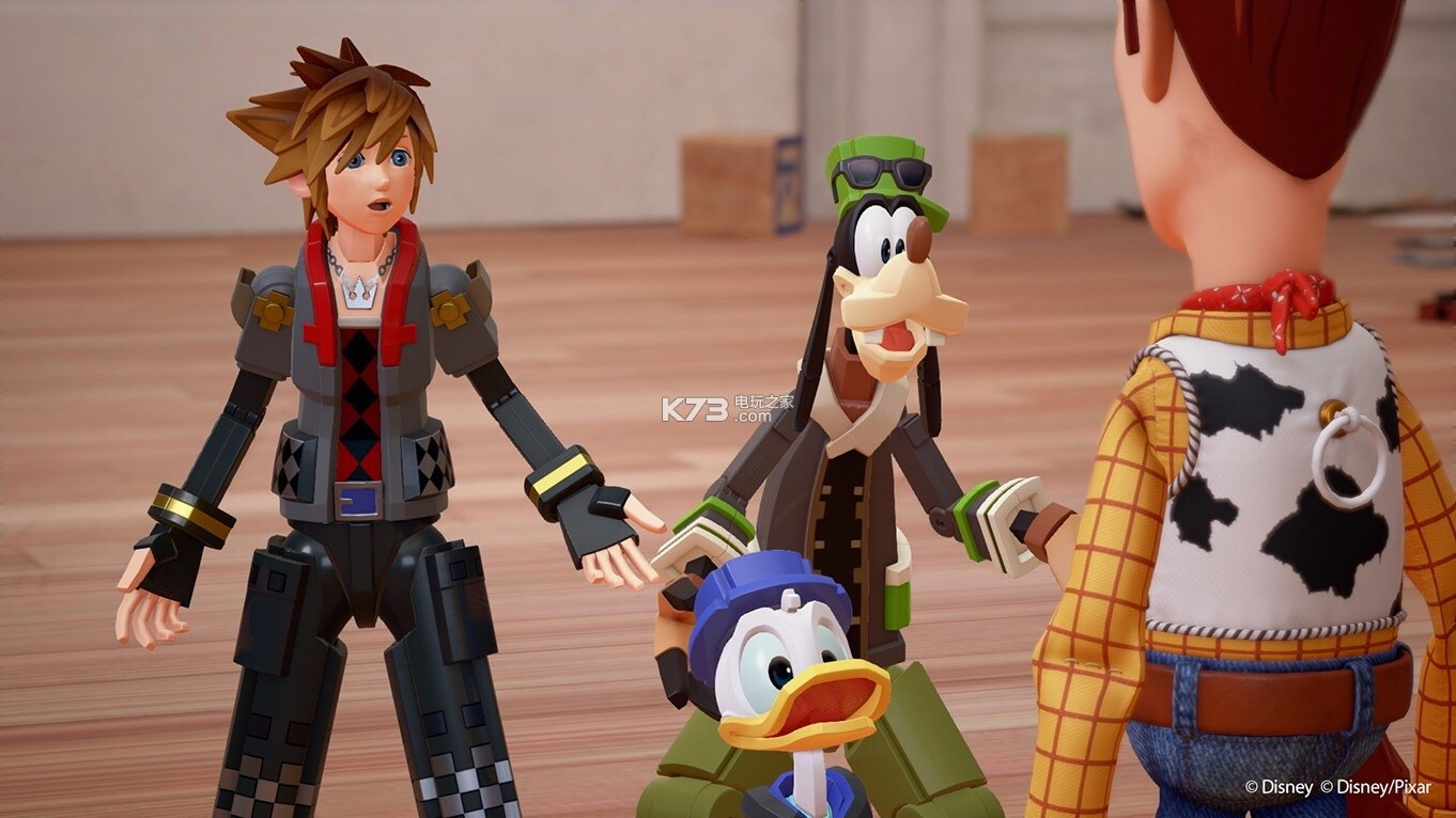 《王国之心3》2018年发售 玩具总动员参战