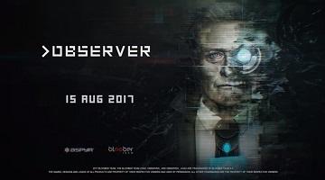 心理恐怖游戏《观察者》发售日公布