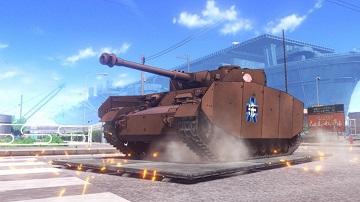 PS4《少女与战车梦幻坦克战》公布 今冬发售
