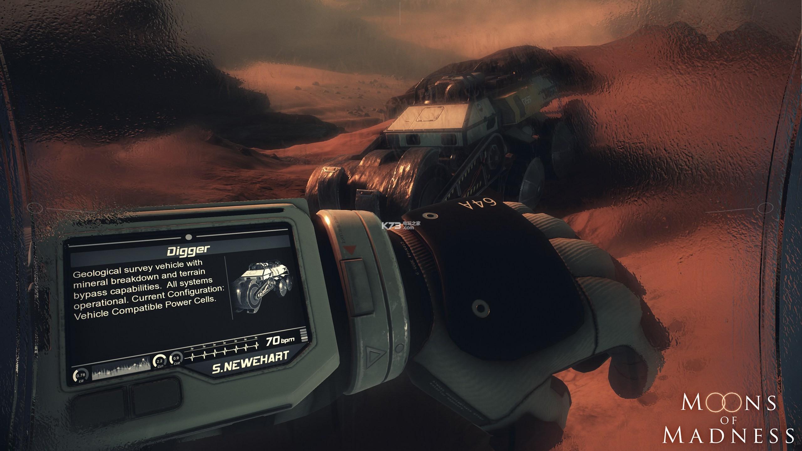 心理恐怖游戏《疯狂之月》公布