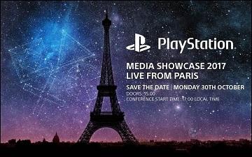 索尼将在11月巴黎游戏周2017举行媒体发表会