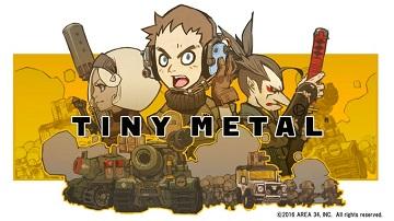 战略游戏《TINY METAL》将登陆Switch平台