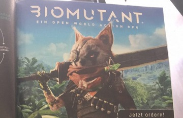 THQ开放世界ARPG《Biomutant》情报流出