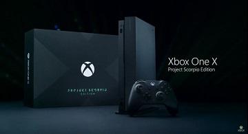 "Xbox One X限定款式""天蝎座计划版""公布"