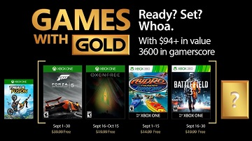 Xbox Live金会员2017年9月免费《极限竞速5》等