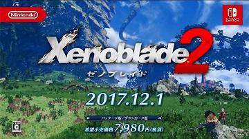 《异度之刃2》确认12月1日发售