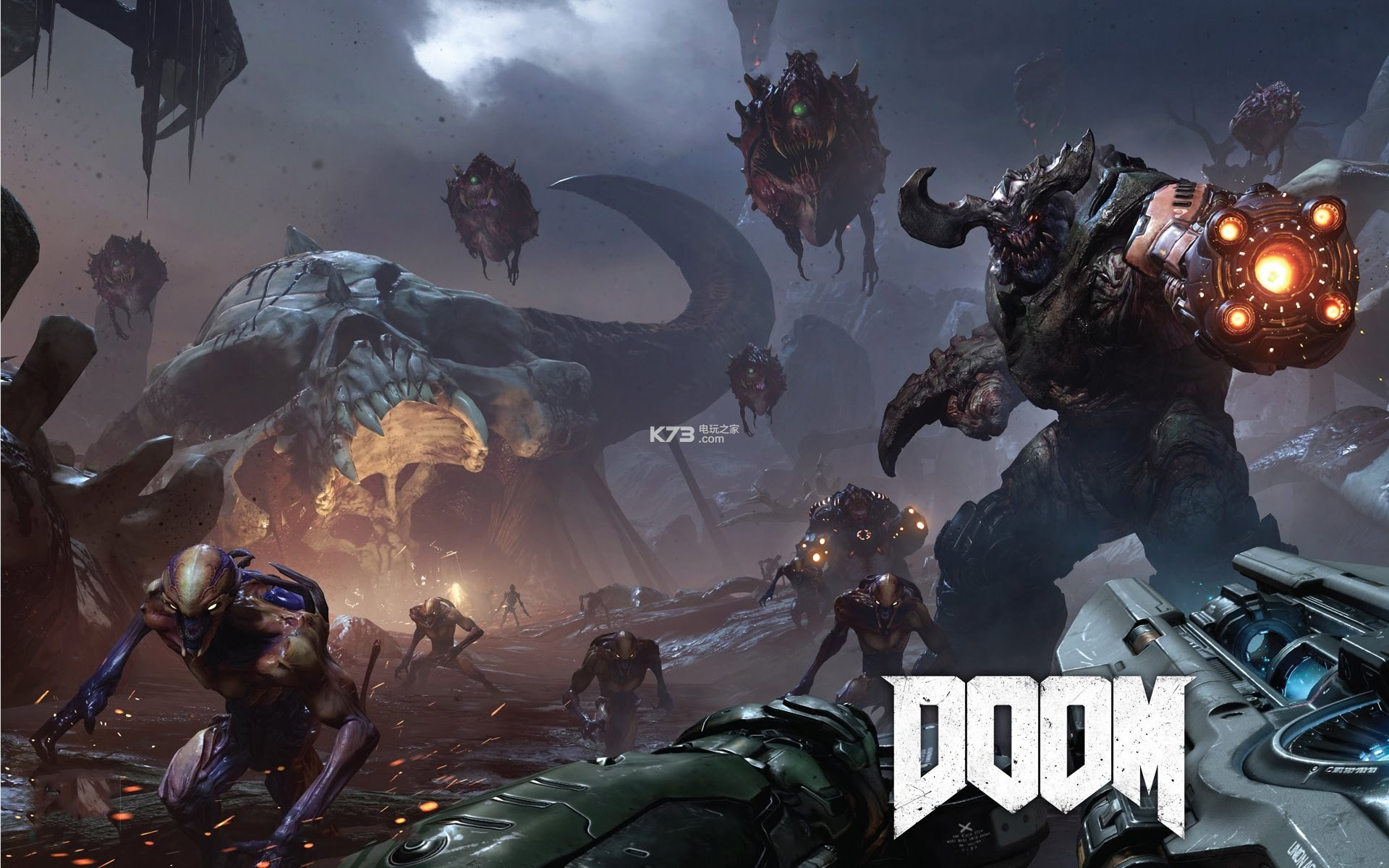 《毁灭战士doom》Switch版大小公布 30帧 720p