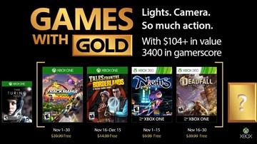17年11月Xbox美服金会员免费游戏名单