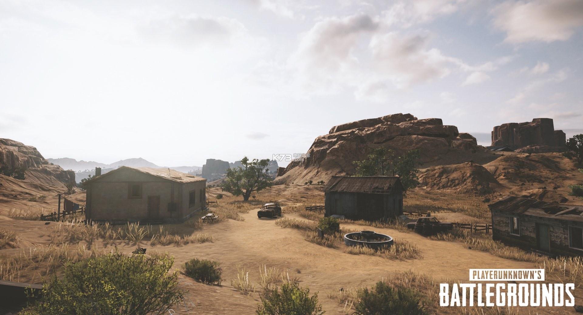 《绝地求生大逃杀》沙漠地图首次截图曝光