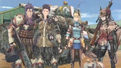 《战场女武神4》中文化登陆ps4、ns、xbox